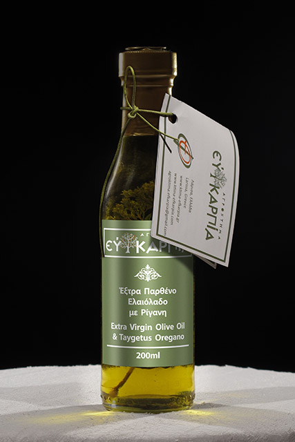 Extra Virgin Olive Oil & Taygetus Oregano